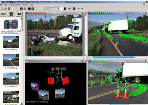 Close Range photogrammetryمدیریت سوانح ترافیکی با فتوگرامتری برد کوتاه
